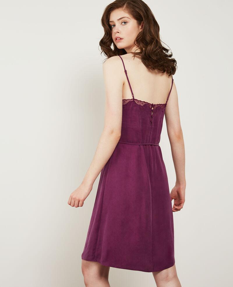 Kleid im Nachthemdstil Dark peony Danuit