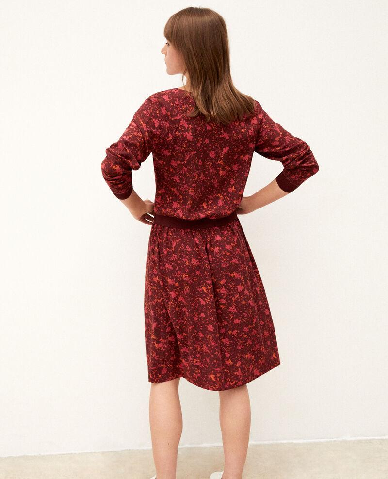 Kleid mit elastischer Taille Rot Gapricorne