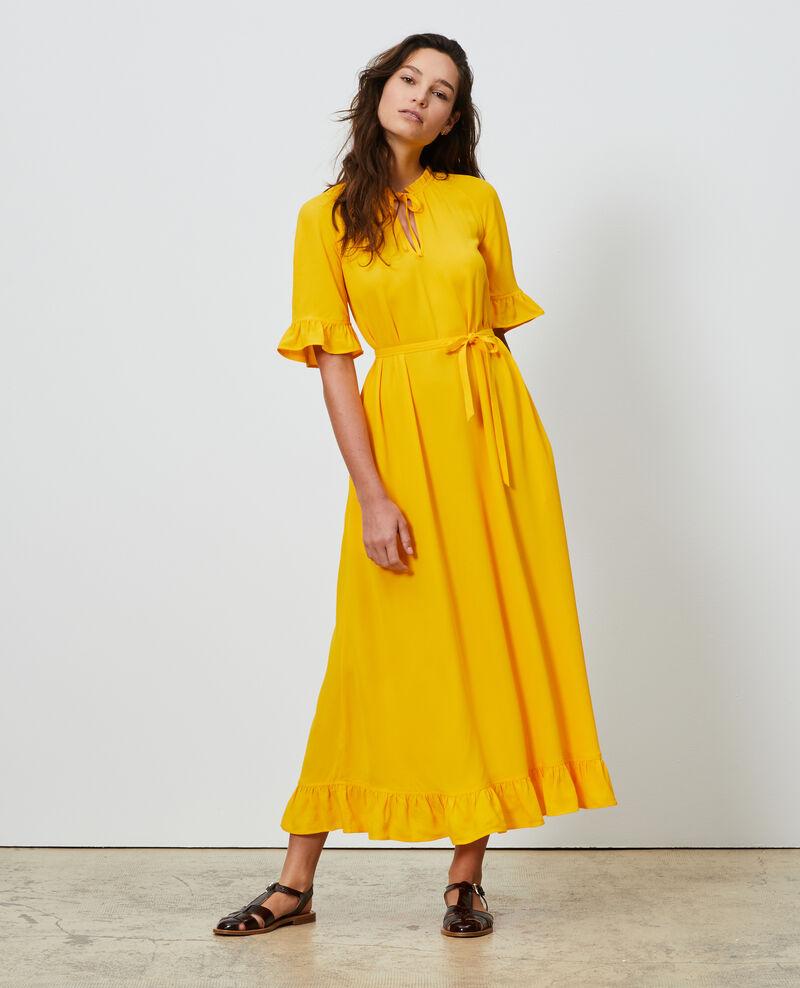 Langes Kleid Gold fusion Niville