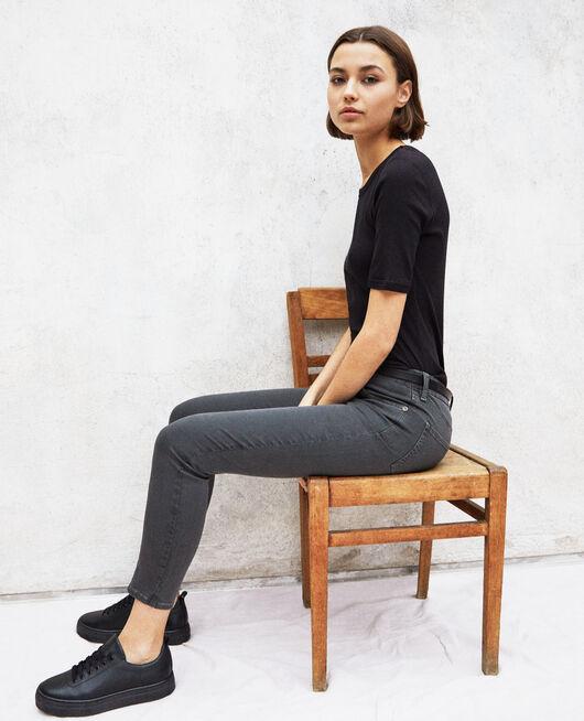 Skinny-Jeans DARK GREEN