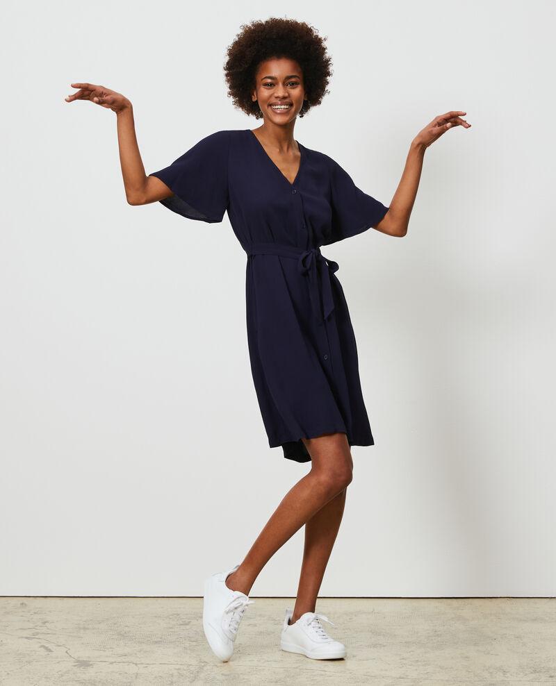 Kurzes Kleid Maritime blue Lavishort