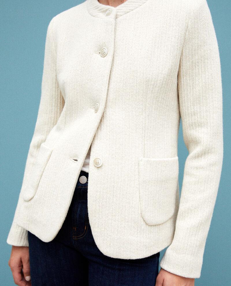 Kurze Jacke Weiß Gaplio