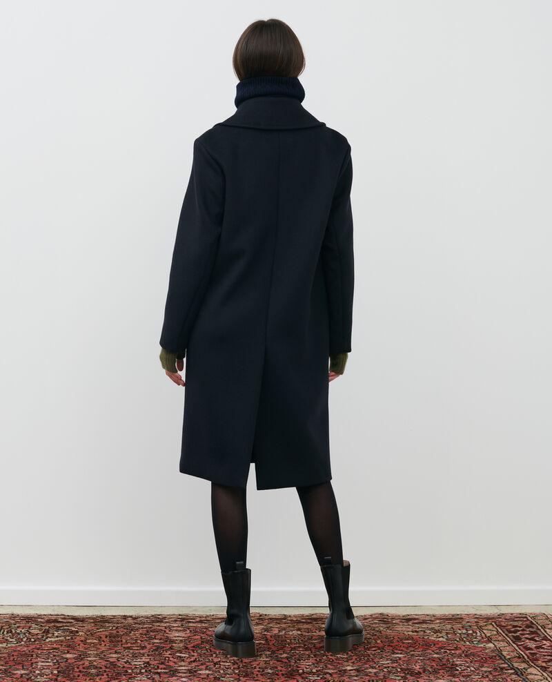 Maskuliner Mantel aus Wolle und Kaschmir Black beauty Maule