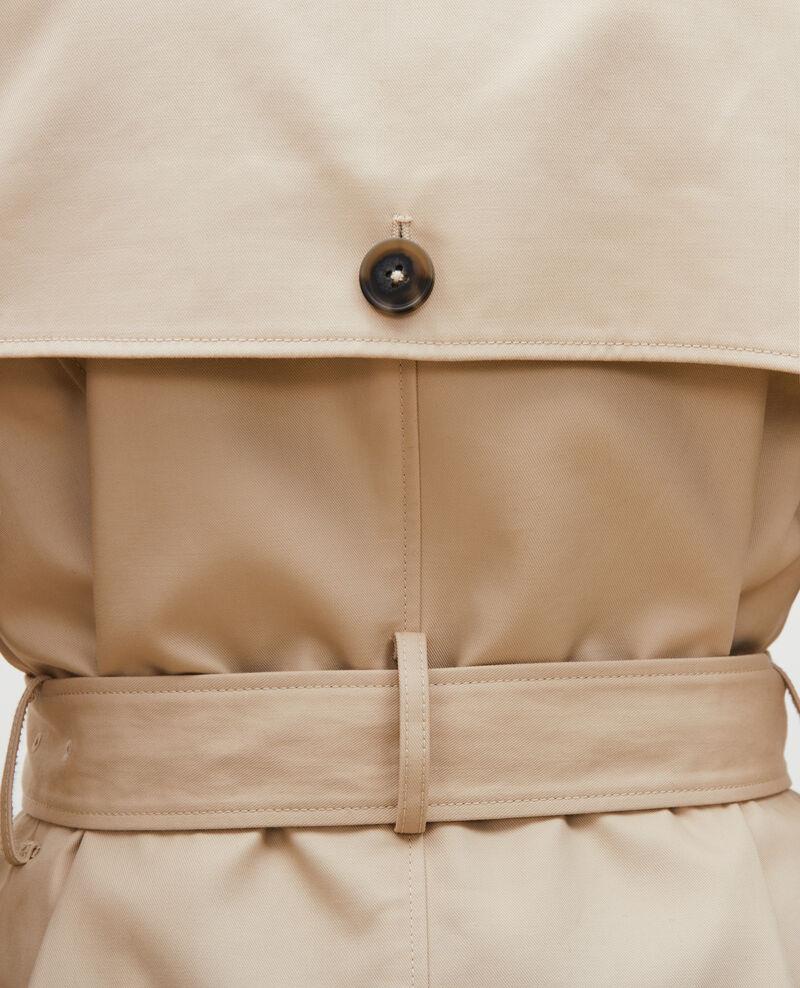 Ikonischer Trenchcoat aus Baumwolle Smoke gray Lambert