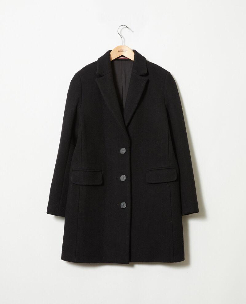 Mantel mit Reverskragen Noir Jasmere