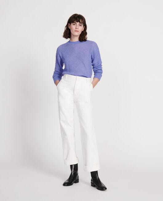 Pullover aus Baby-Alpaka PERSIAN JEWEL