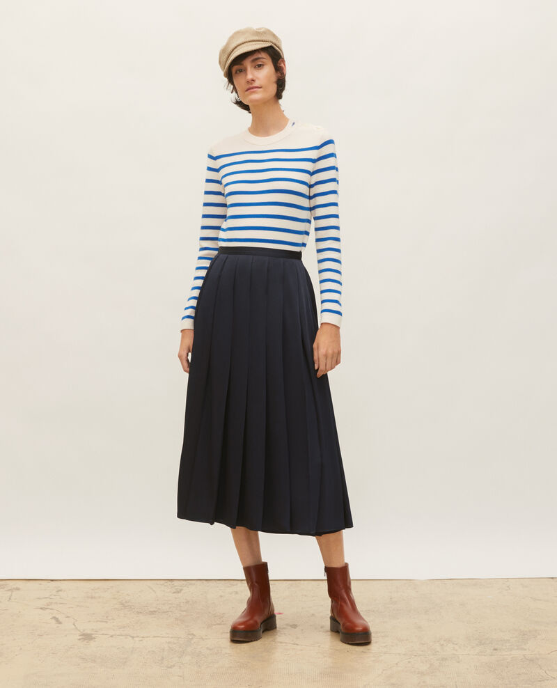 Wollpullover im Marinelook Stripes princess blue gardenia Liselle