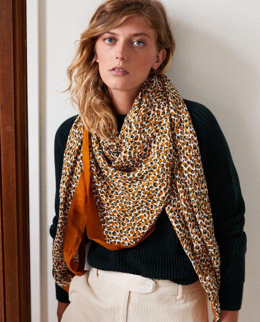 Tuch mit Leoparden-Print THAI CURRY