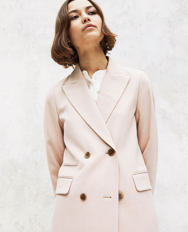 Manteau léger long Beige Illinois