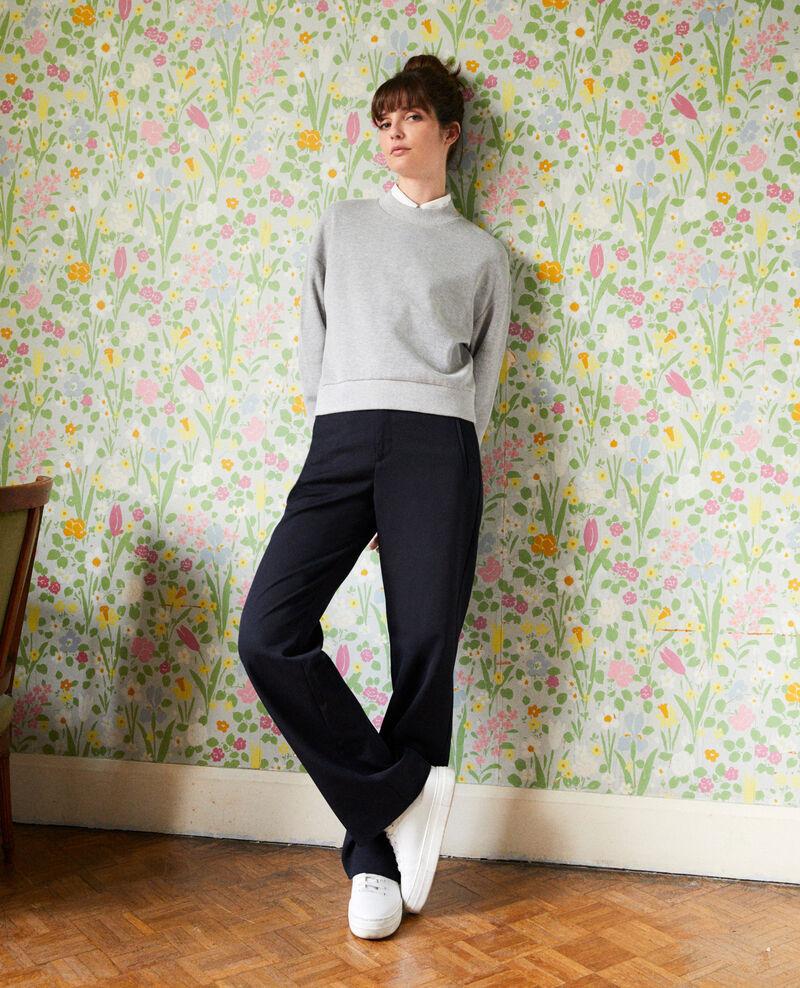 Kurzes Sweatshirt Light grey Jizela
