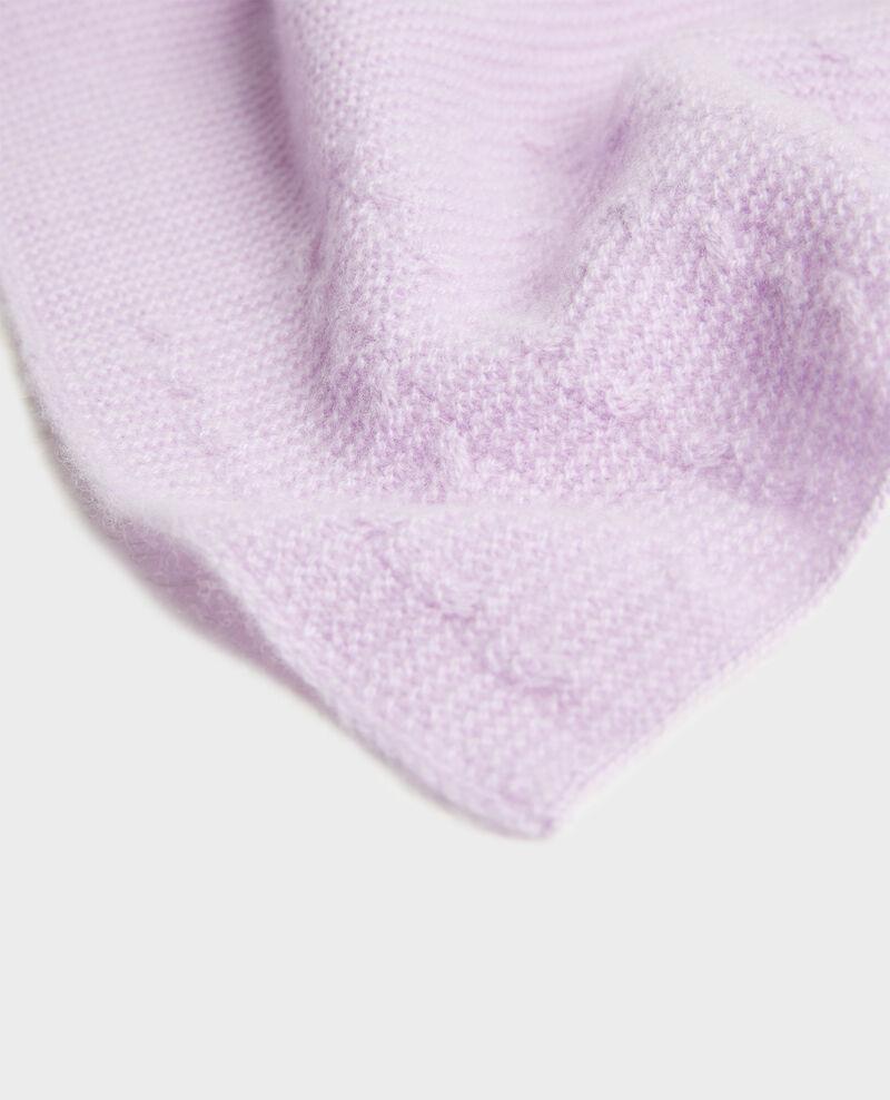Schal aus Kaschmir  Pastel lilac Minet