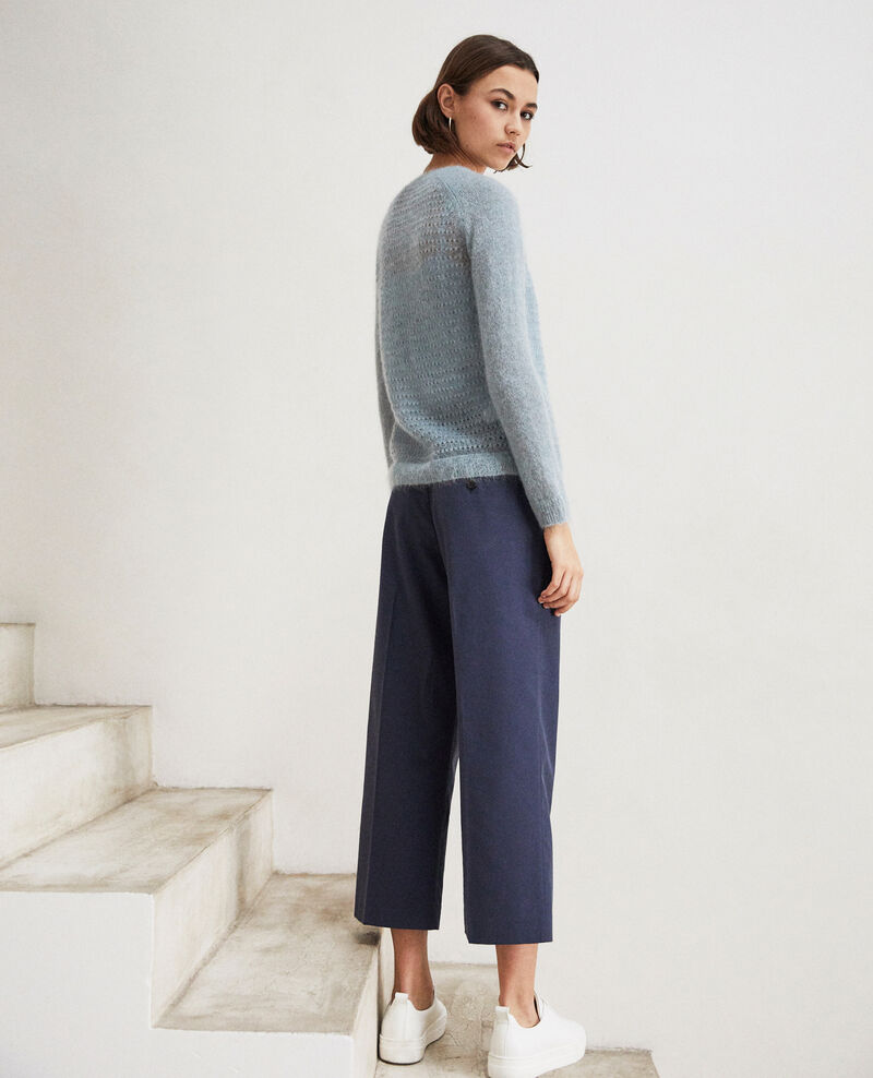 Pullover aus Zierstrick  Blue mirage Iceo