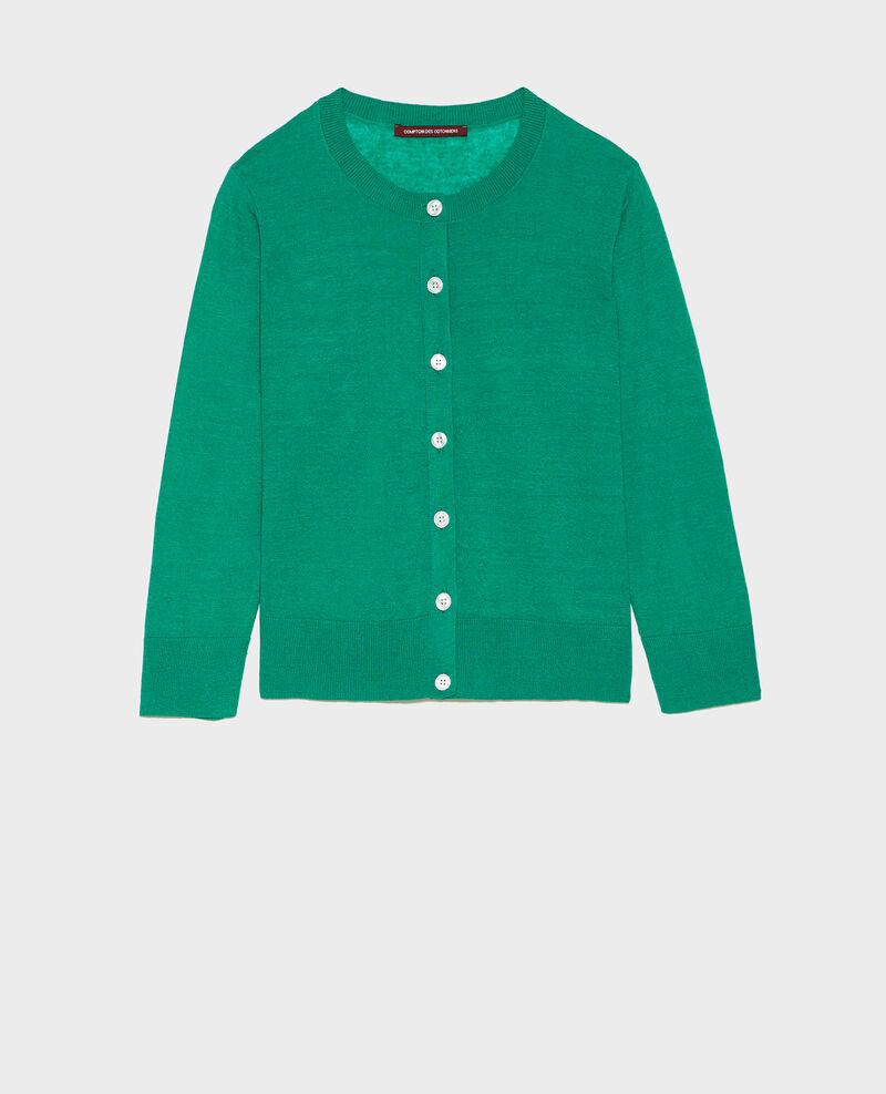 Cardigan aus Leinen Golf green Lagardi