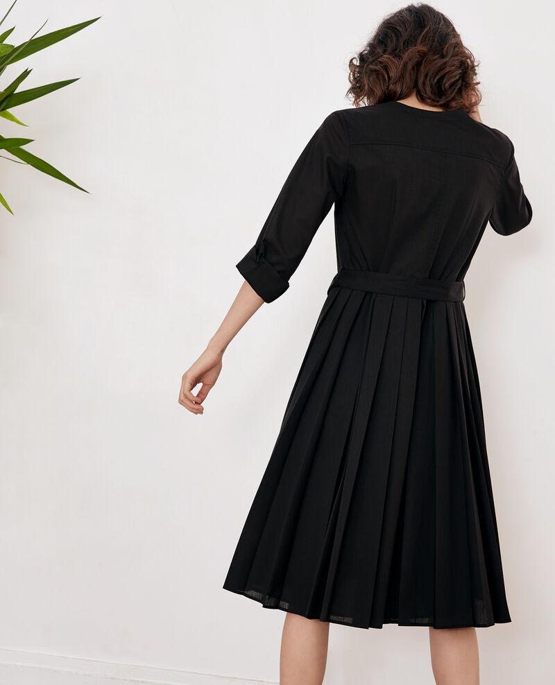 Kleid mit Falte Noir Festival