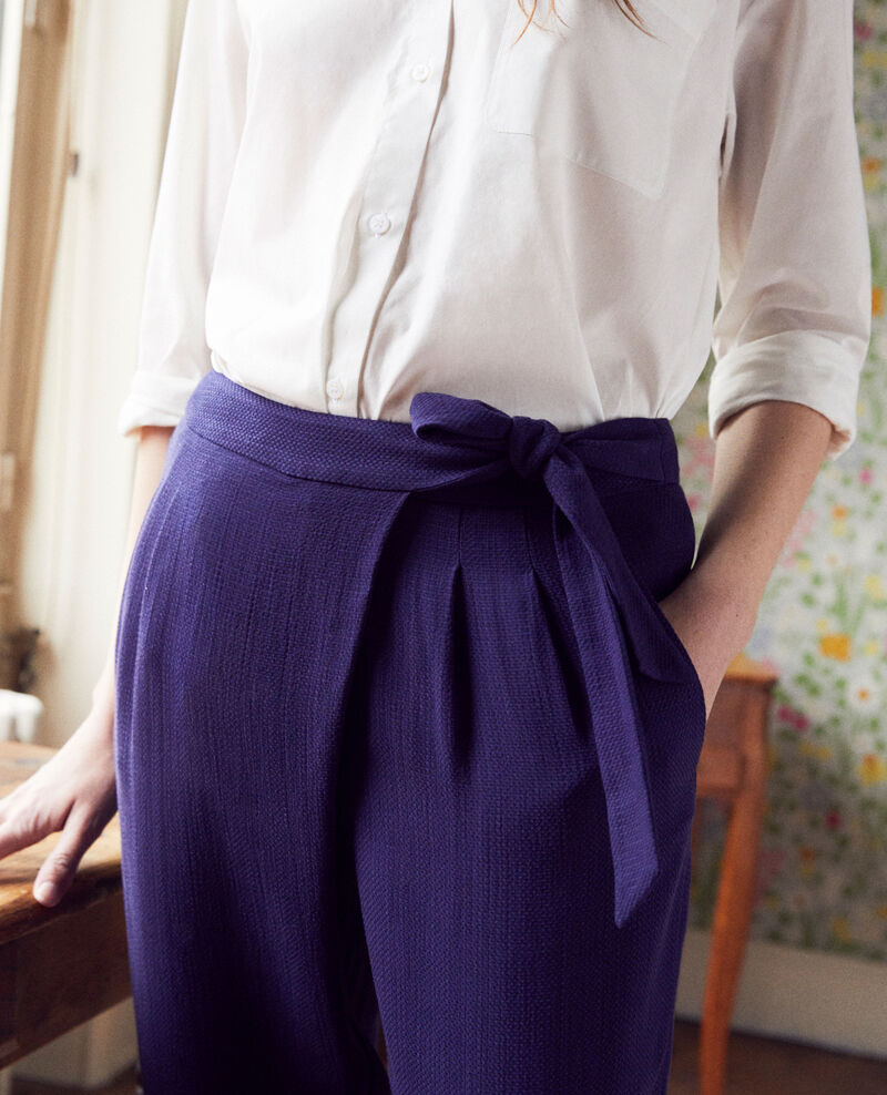 Sarouel-Hose  Evening blue Inoise