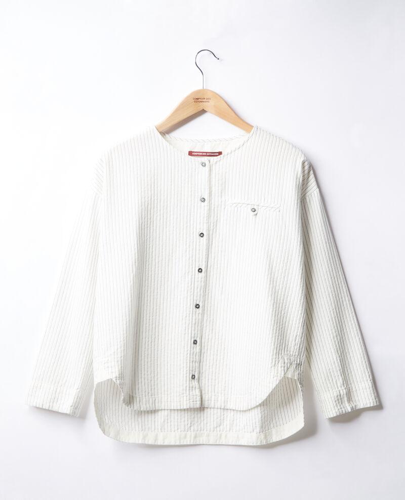 Gestreifte Bluse Off white/navy stripes Falaise