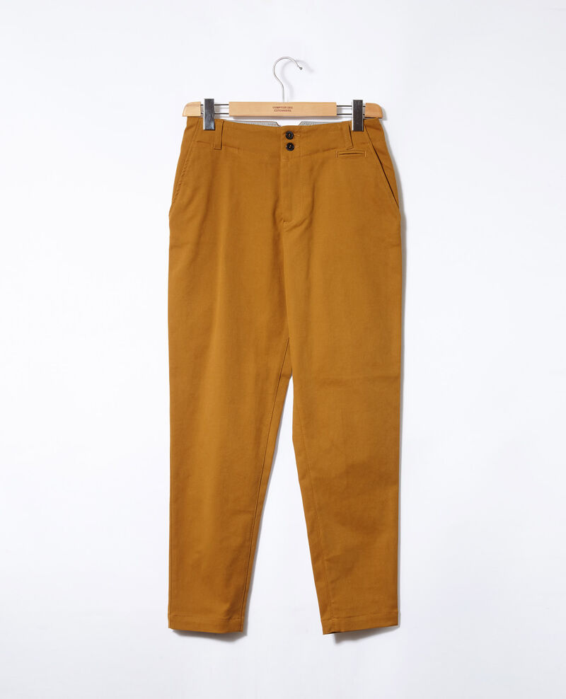 Chino-Hose Golden brown Gabini