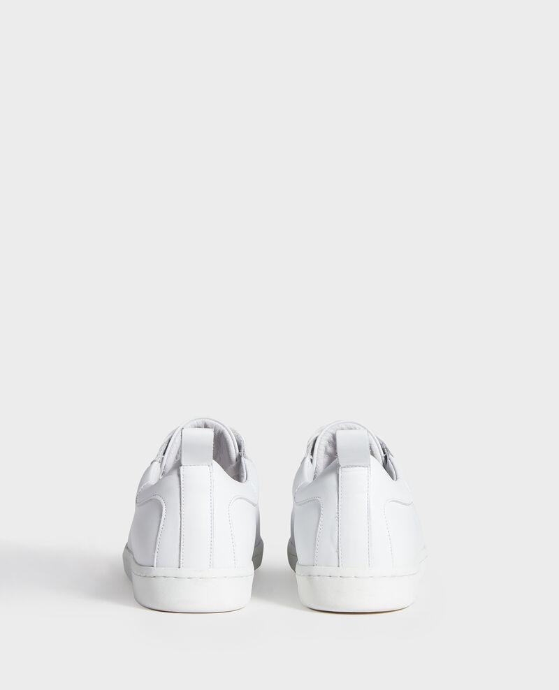 Sneakers aus Leder  Optical white Lead
