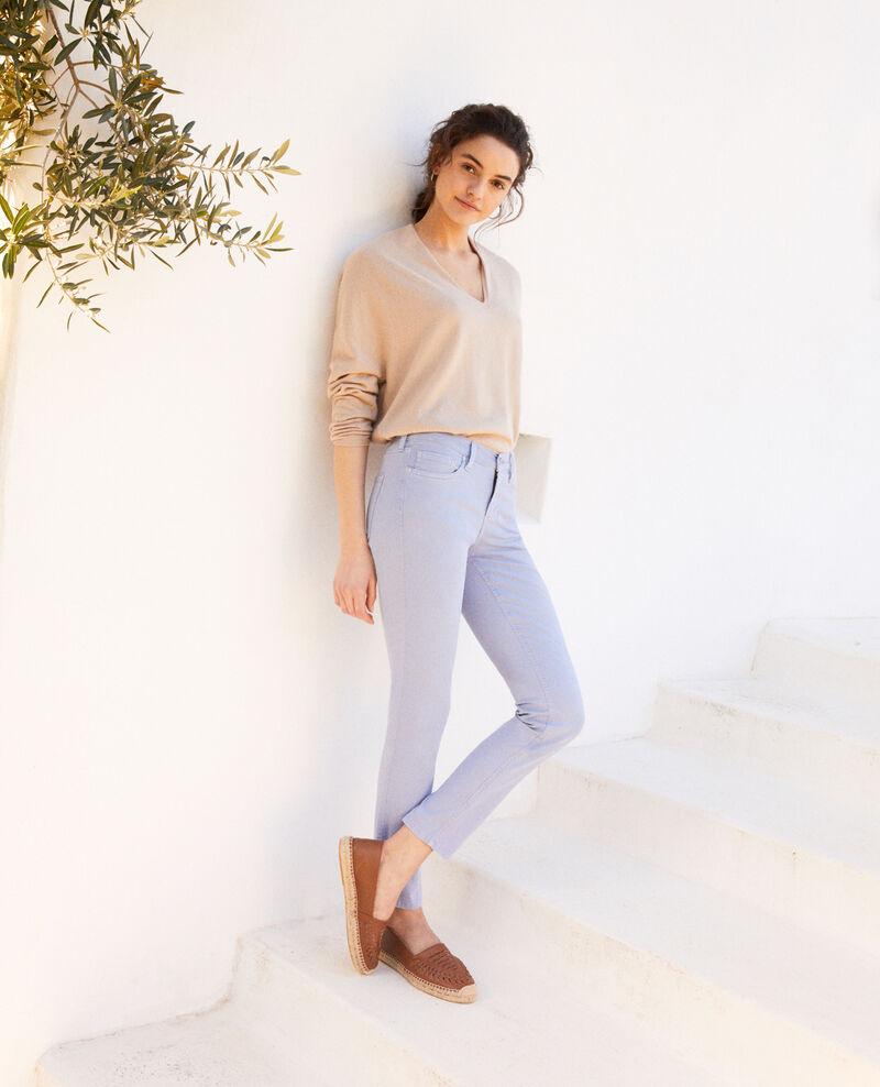 Skinny-Jeans Ribbon blue Ibonair