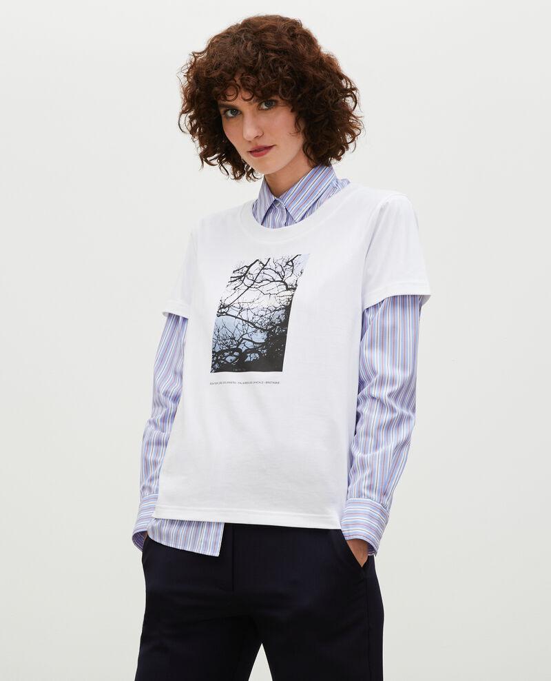 T-Shirt aus Baumwolle mit kurzen Ärmeln Bretagne Magali