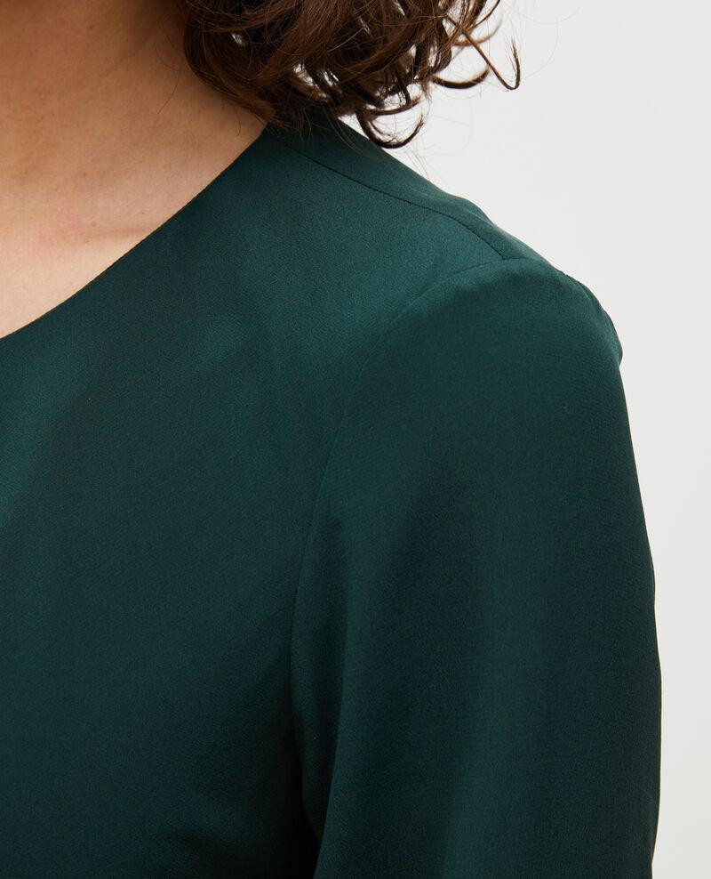 Schräg geschnittenes, fließend fallendes Seidenkleid Scarab Mantet