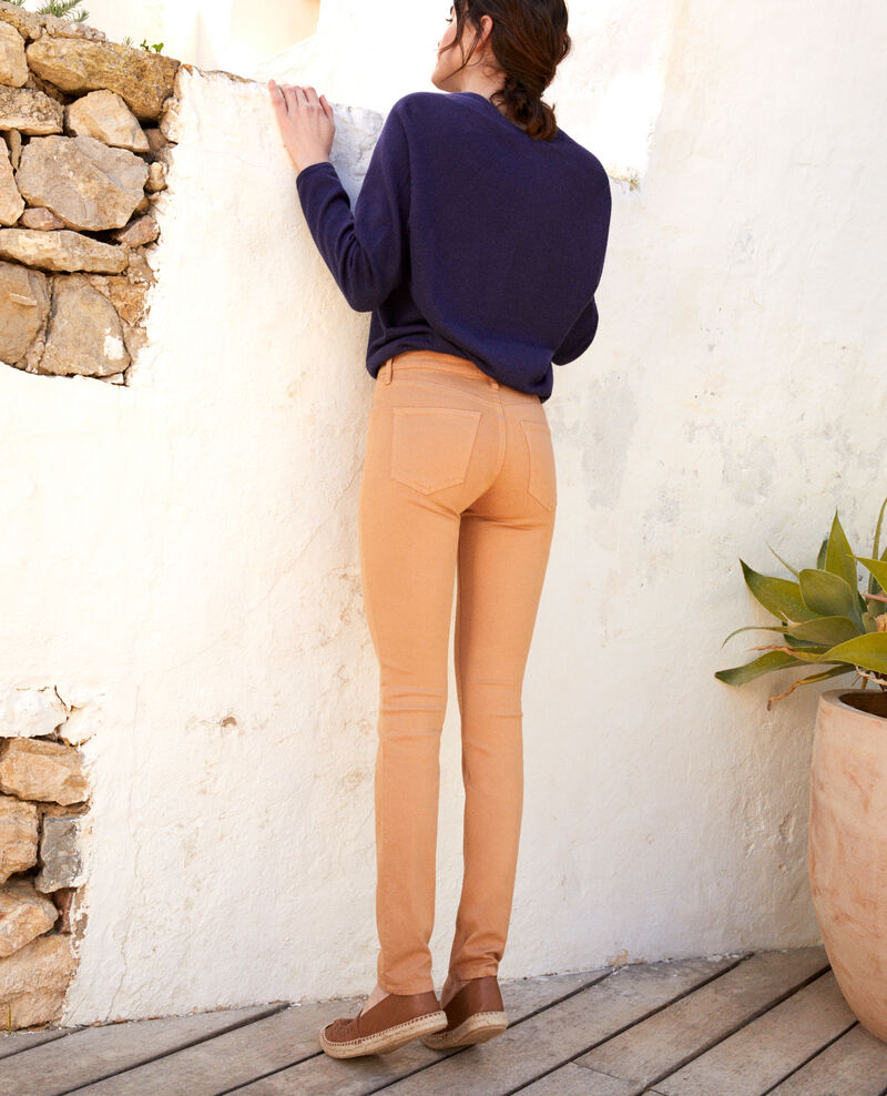 Slim-Jeans Caramel beige 9illineto