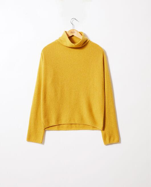 Pullover mit Stehkragen aus Kaschmir SAUTERNE