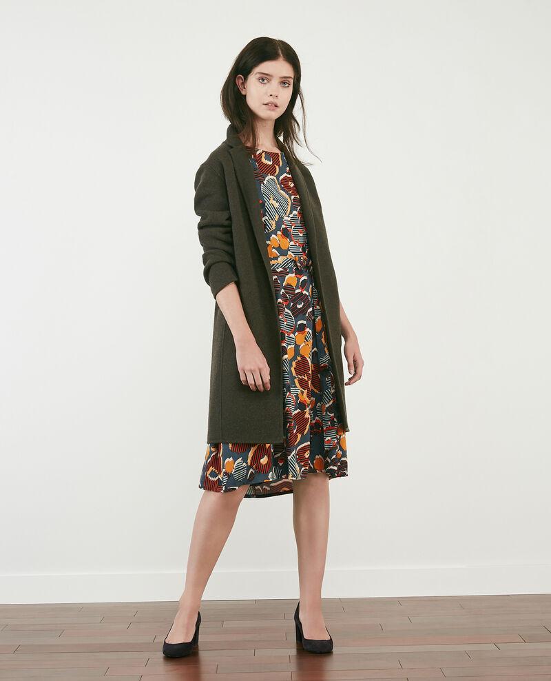 Bedrucktes, weites Kleid Shaft curcuma Daurelie