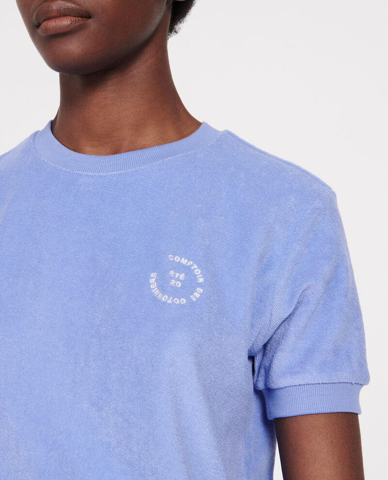 Frottee-T-Shirt aus 100 % Baumwolle Persian jewel Lis