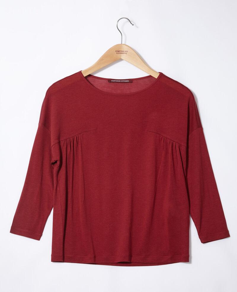 T-Shirt mit Rundhalsausschnitt Rio red Graziela