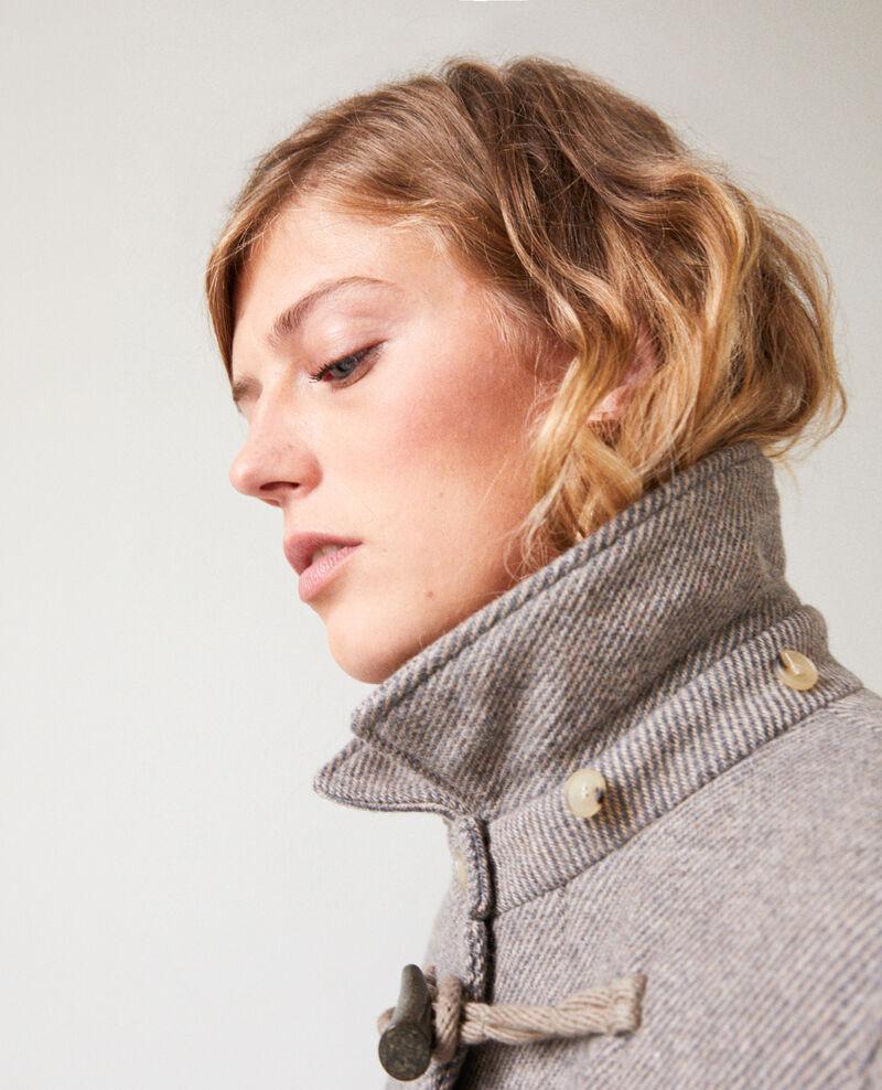 Mantel im Dufflecoat-Stil Grey/beige Juffle