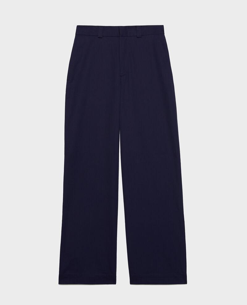 Maskuline Hose aus Baumwolle Maritime blue Lodrey