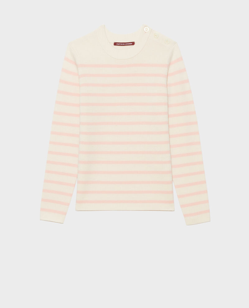 MADDY - Wollpullover im Marinelook Stp_grd_shell Liselle