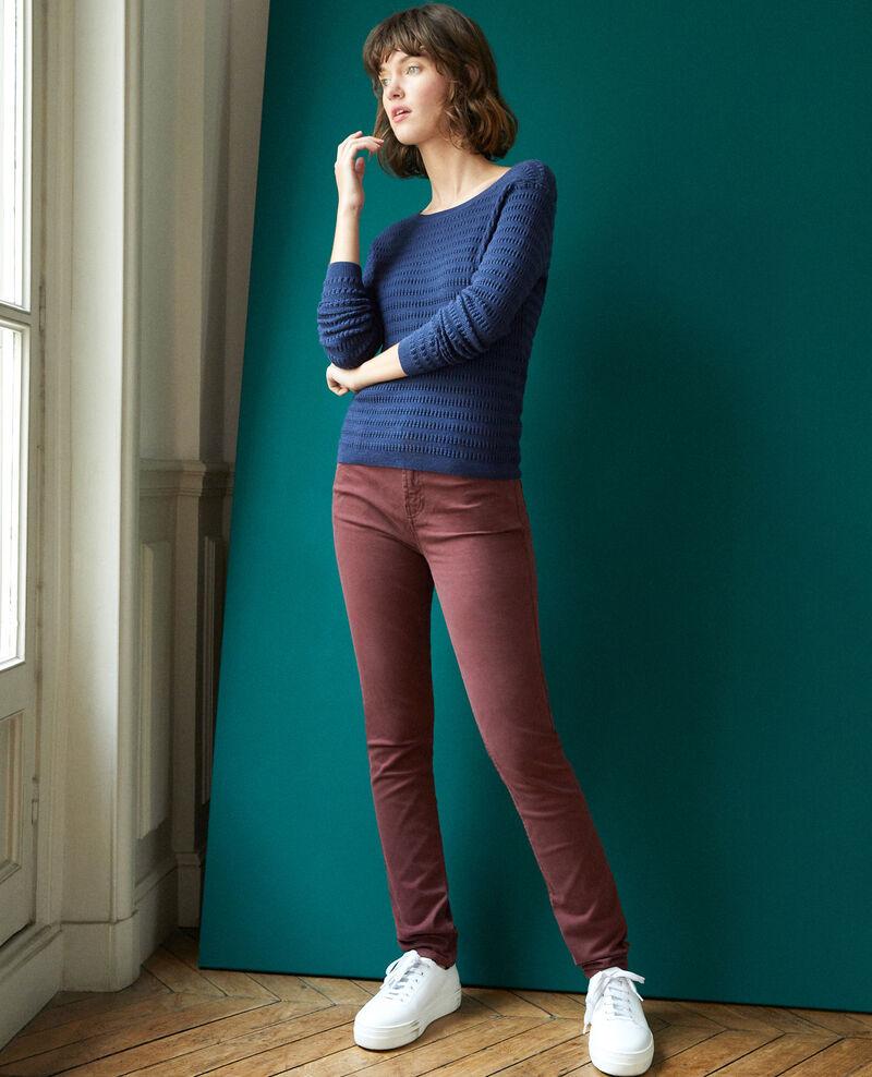 Slim-Jeans Decadente chocolate Goneto