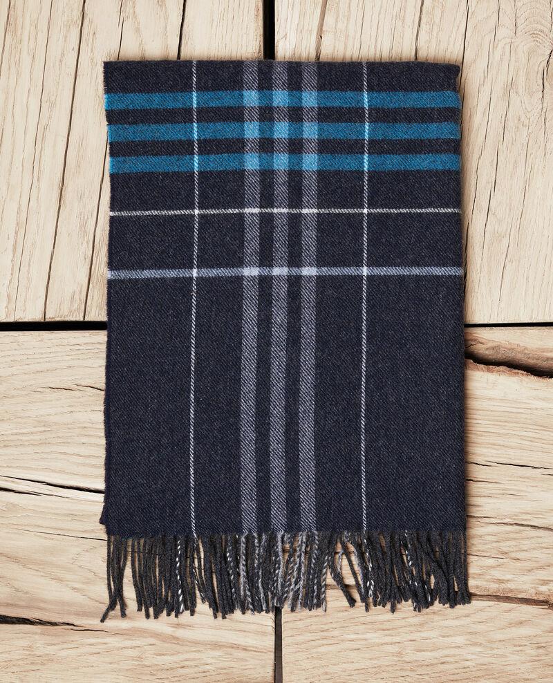 Schal mit Schottenmuster Bleu Jecossai