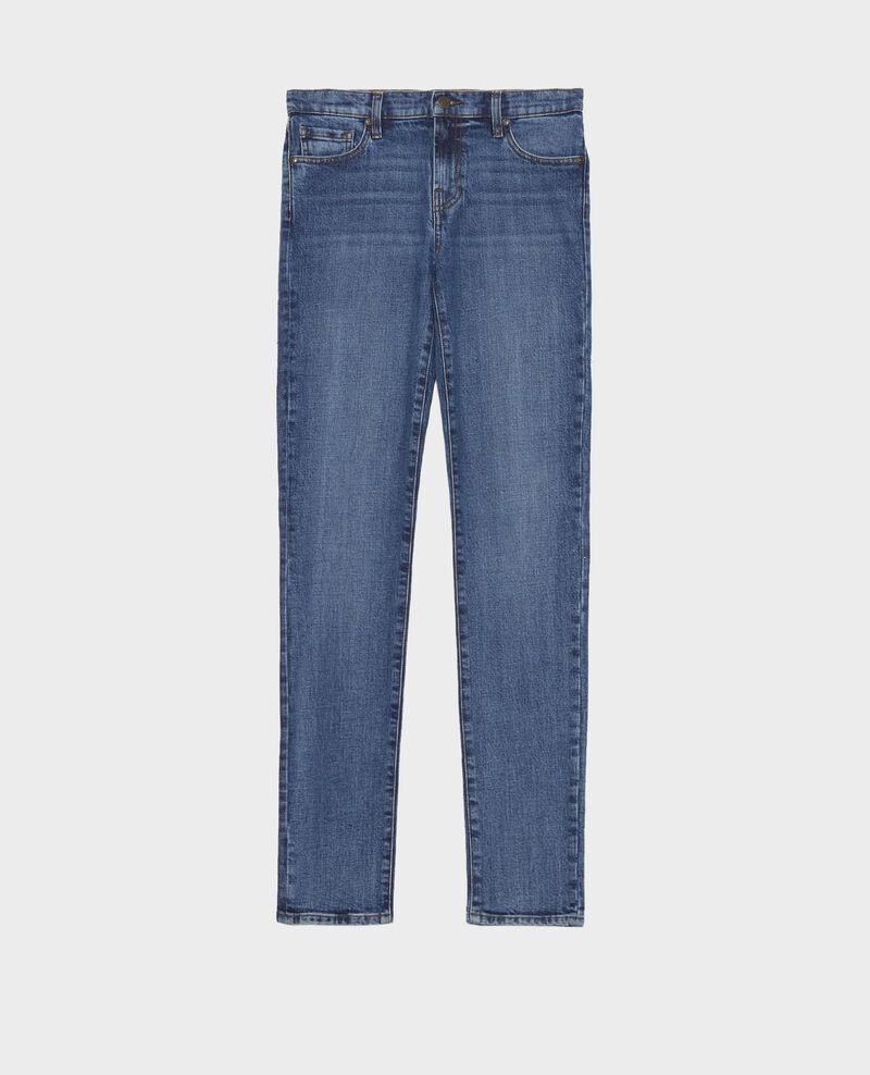 SLIM MID RISE - Jeans 5 Taschen Denim medium wash Mandro