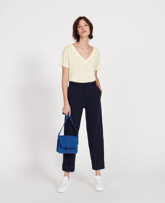 Kleine Tasche aus Baumwolle PRINCESS BLUE