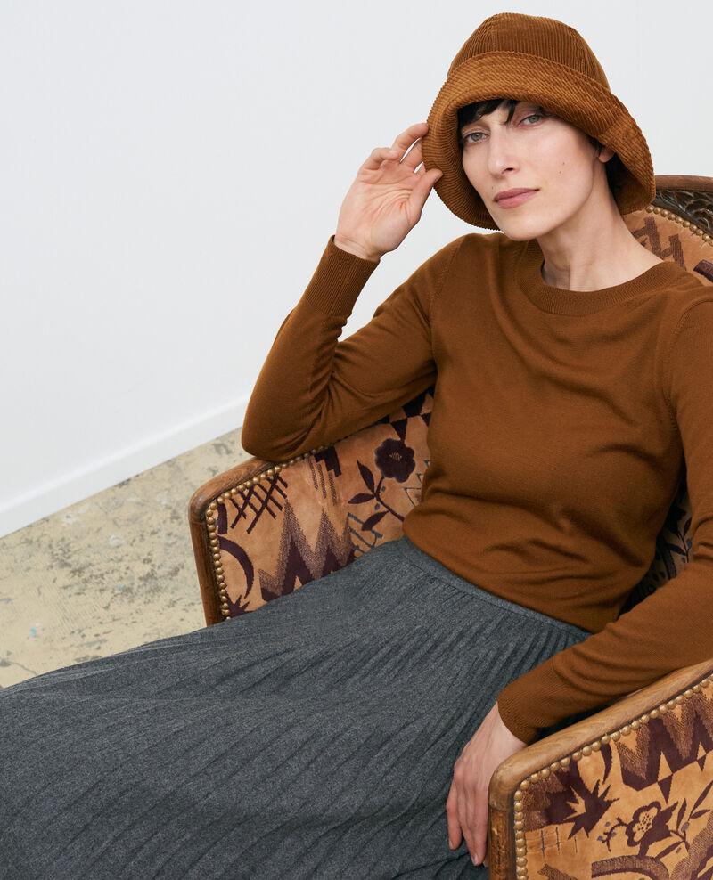 Pullover mit Rundhalsausschnitt aus Wolle Monks robe Passy
