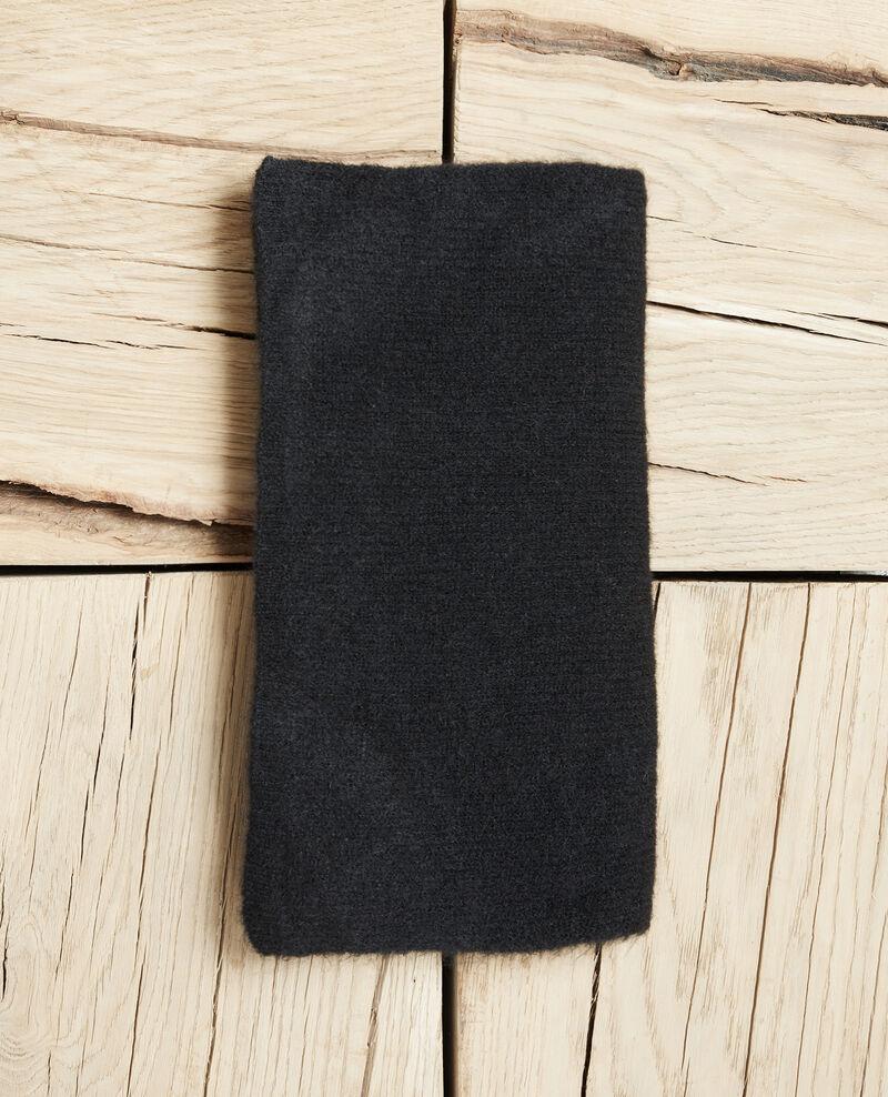 Weicher Schal Noir Jecou