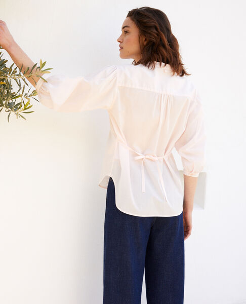 Comptoir des Cotonniers - bluse mit plastron - 3