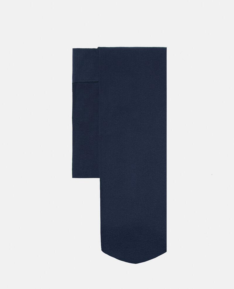 Blickdichte Strumpfhose Blau Geng
