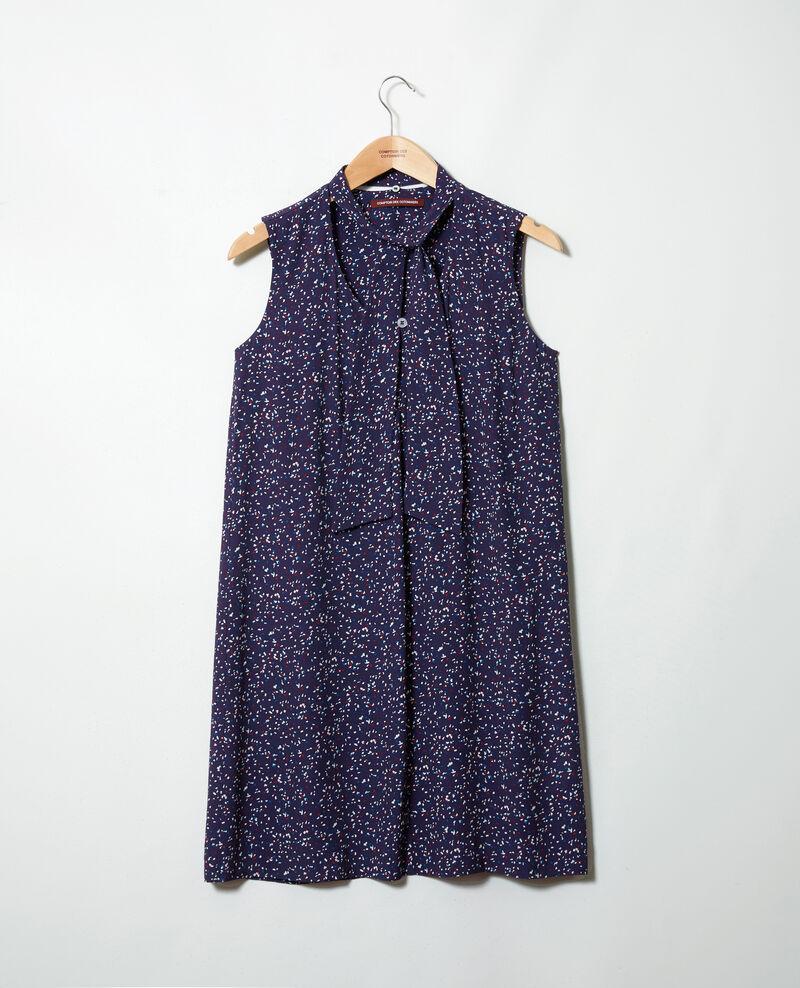 Ärmelloses Kleid Confetti ink navy Iolande