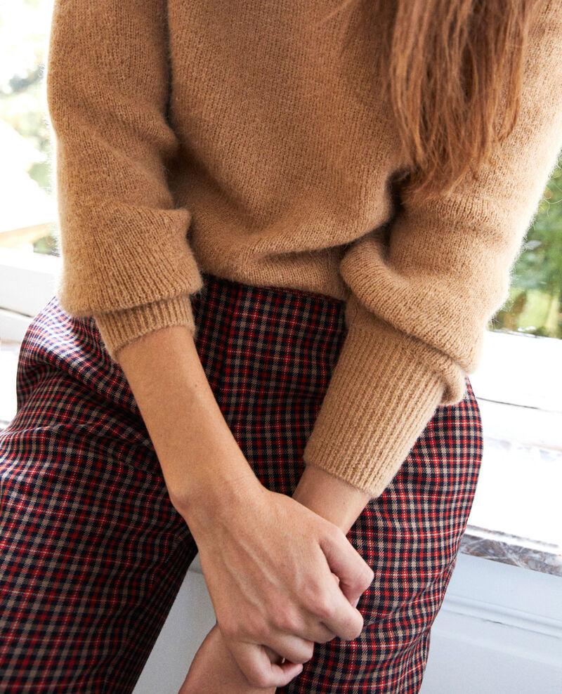 Pullover mit Stehkragen Iced coffee Jipali