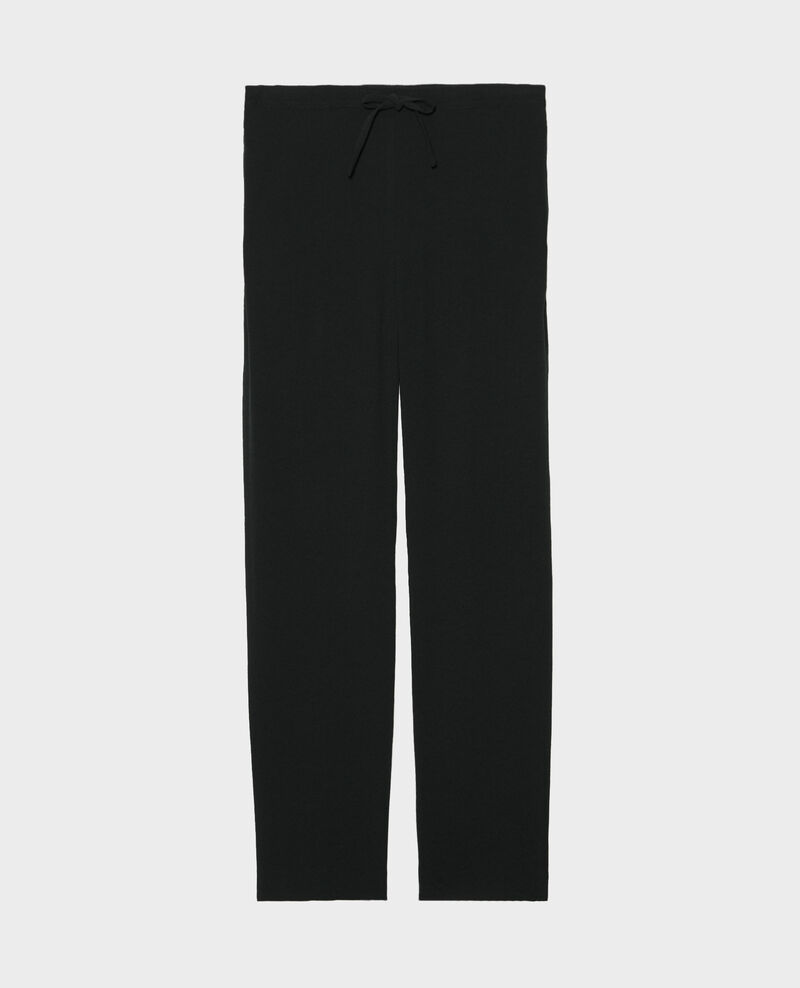 Hose im Tayloring-Stil mit eng zulaufendem Bein Black beauty Marca