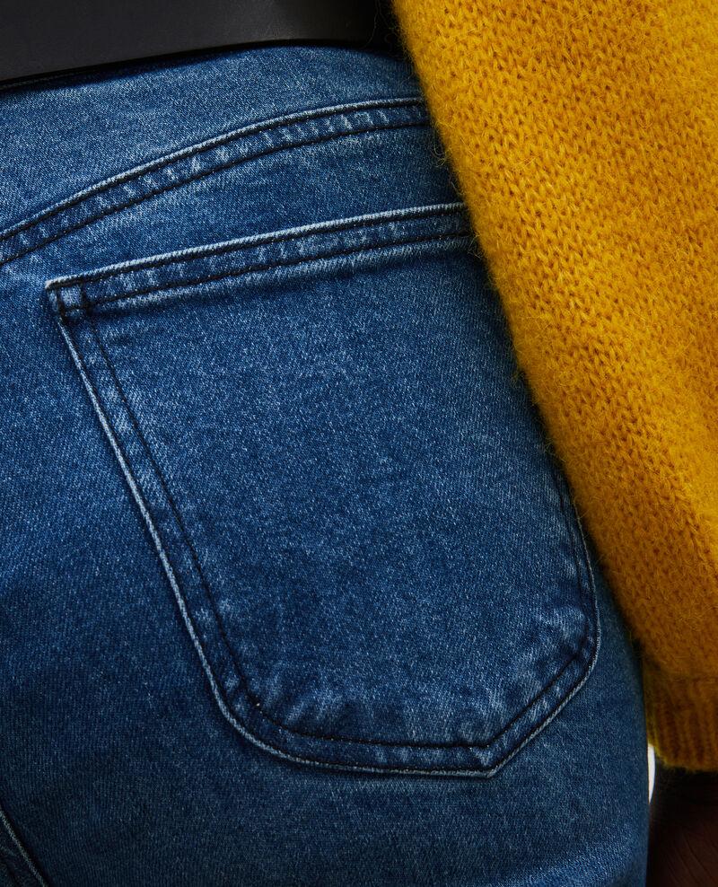 SLIM STRAIGHT - Gerade Jeans aus verwaschenem Denim Denim medium wash Linneou
