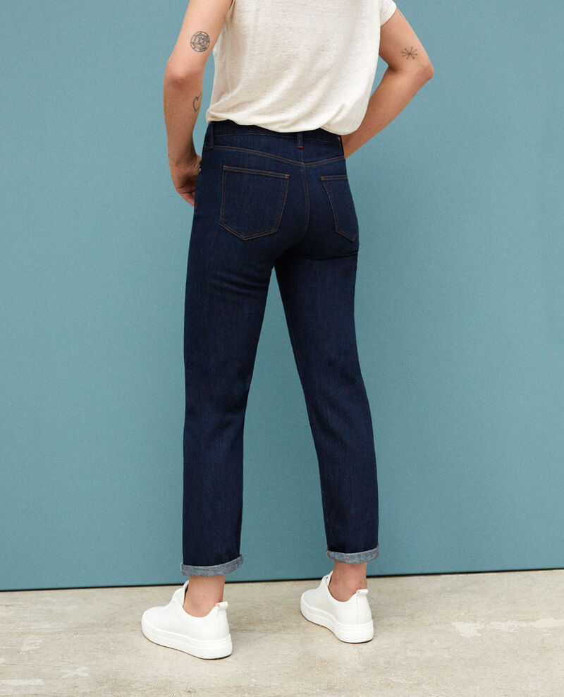 Real Straight-Jeans Blau Gobert