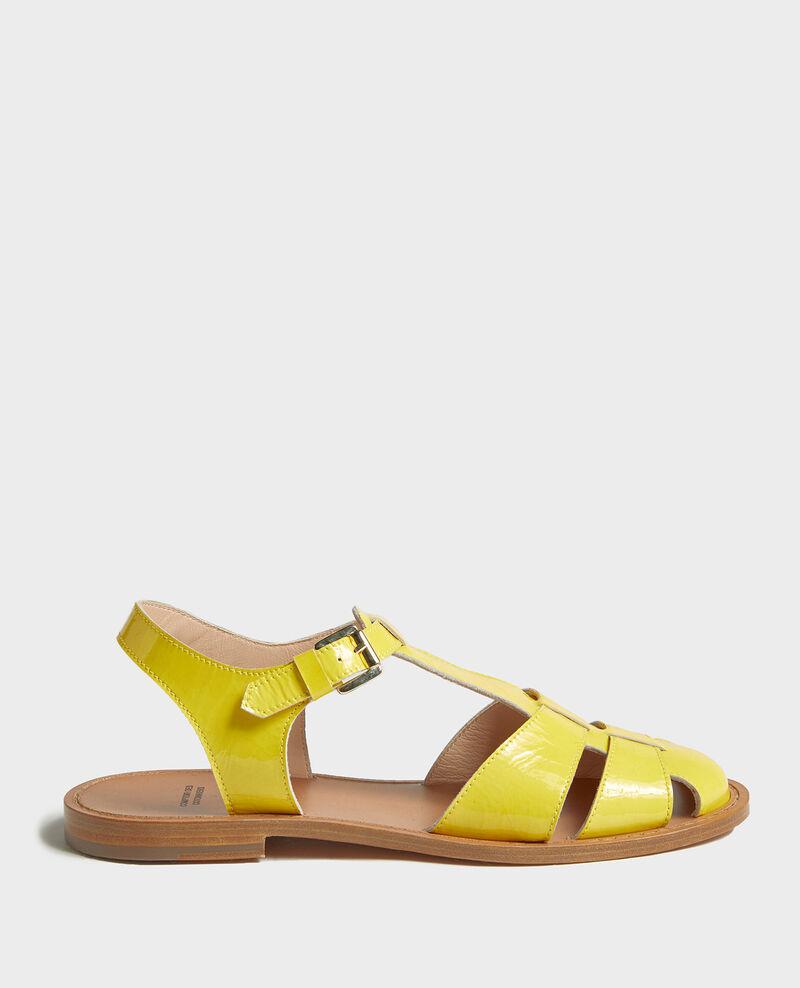 Sandalen aus Lackleder Maize Lapiaz