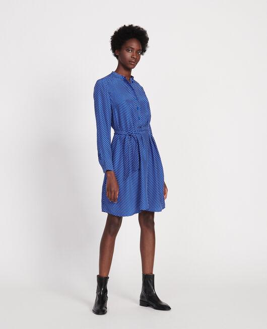 Kleid mit Rundhalsausschnitt LITTLE POIS SURF THE WEB