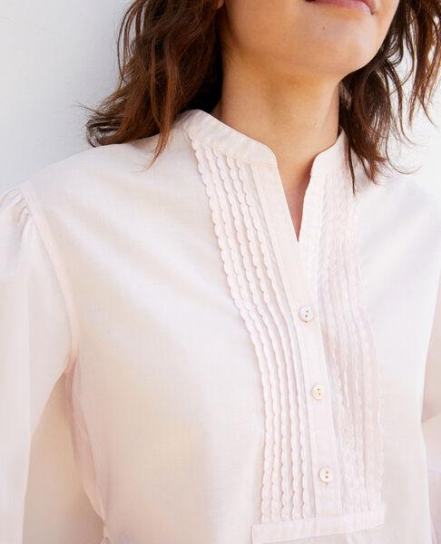 Comptoir des Cotonniers - bluse mit plastron - 5