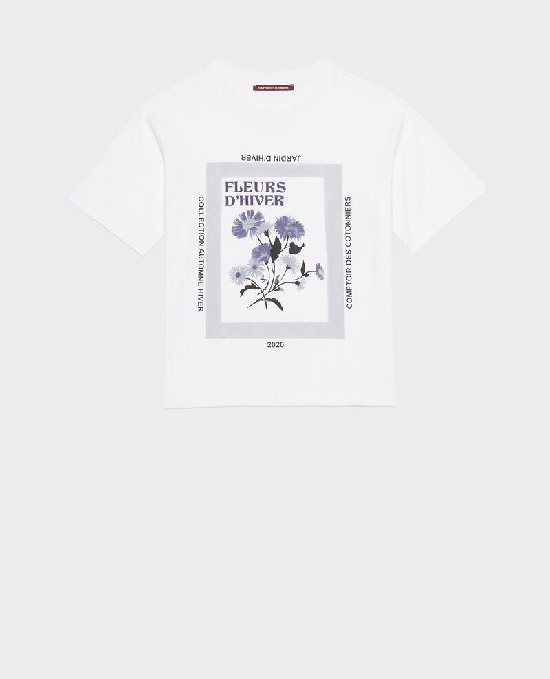 T-Shirt aus Baumwolle mit kurzen Ärmeln Light grey melange Masny